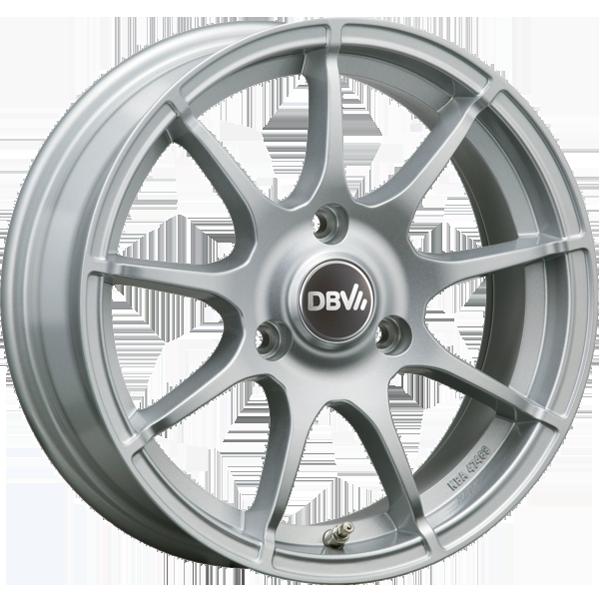 DBV Bali hliníkové disky 4,5x15 3x112 ET23,5 strieborný