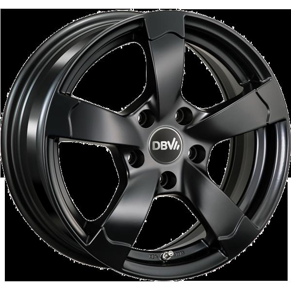 DBV Torino II hliníkové disky 6,5x15 4x100 ET35 čierny